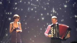 Mam Talent: Anna Teliczan (śpiewa Nothing Compares) i Marcin Wyrostek Poznań Arena 9.12.2009