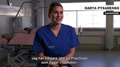 Darya Pysarenko, sjukskötare