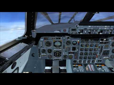 Concorde Flight Nuuk to Anchorage