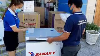 Điện máy 121- Tủ đông mini Sanaky cho gia đình