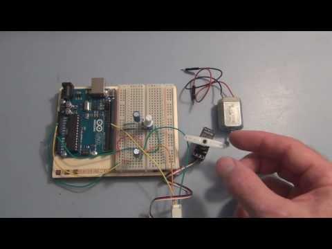Arduino Uno tutorial servo motor control