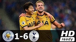 Leicester City vs Tottenham 1-6 All Goals & Highlights 18-05-2017 HD
