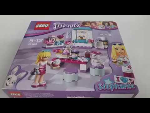 Lego Friends Cukiernia Stephanie Rozpakowywanie I Układanie Składanie Klocki Lego