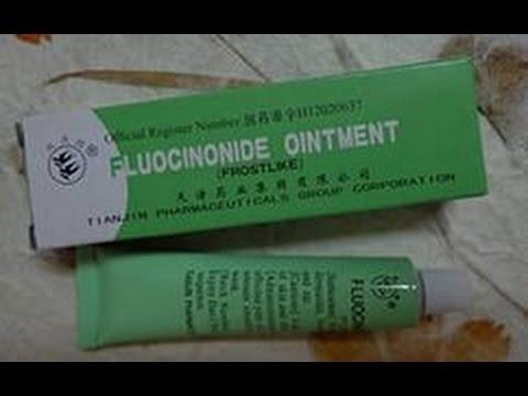 Мазь от аллергии и высыпаний на коже  Fluocinonide ointment. Тайские штучки.