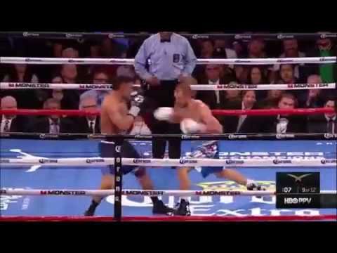 Kovalev drops Andre Ward and Andre Ward sends Kovalev through the ropes Highlights