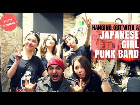 I'm With Japanese Girl Punk Band: The Jungles!!