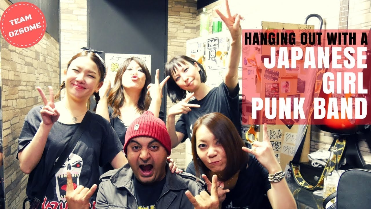 Japanese girl punk band-9119