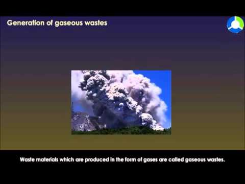 Generation Of Gaseous Wastes