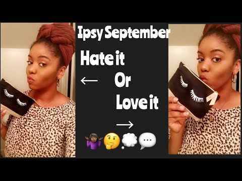 Ipsy September 2018 thumbnail