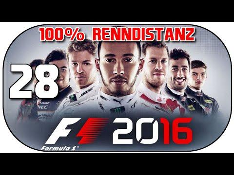 F1 2016 #28 | Rennen in Russland - 100% Renndistanz ★ 60fps Let's Play F1 2016 Deutsch