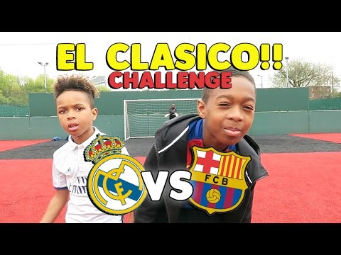 Callout Penalties & Penalty Shootout!! | EL CLASICO SPECIAL!! | Tekkerz Kid