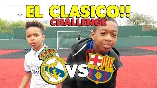 Callout Penalties & Penalty Shootout!! | EL CLASICO SPECIAL!! | Tekkerz Kid