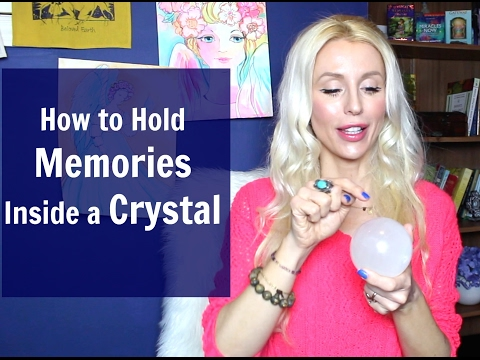 How to Hold MEMORIES Inside a CRYSTAL