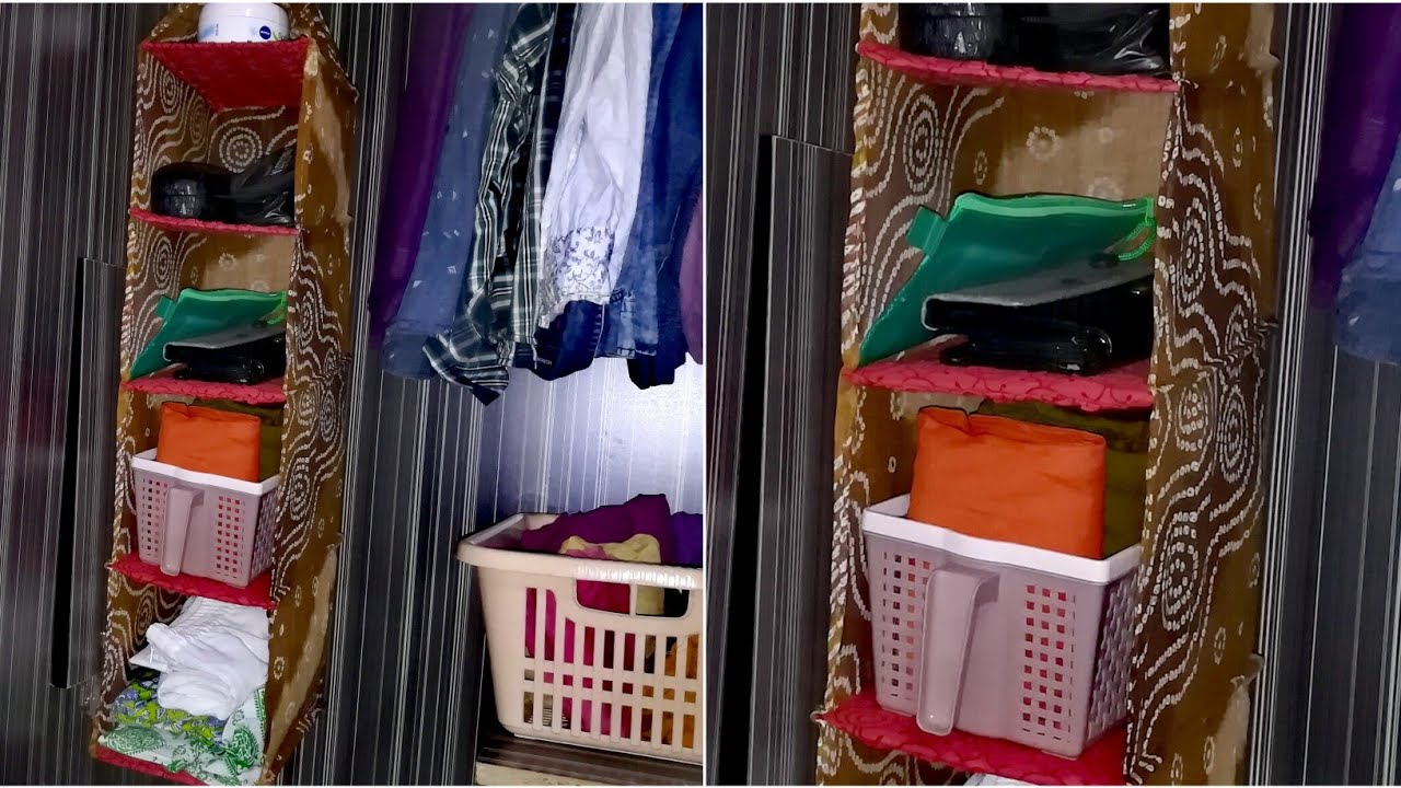 DIY Wardrobe Organizer from Old Clothes - Wardrobe ...