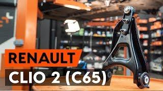 Como substituir a braço de suspensão dianteira no RENAULT CLIO 2 (C65) [TUTORIAL AUTODOC]