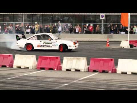 Drifting in Holland with NL Drift series 2012 - round2 @ Kyocera Stadium ( ADO Den Haag )