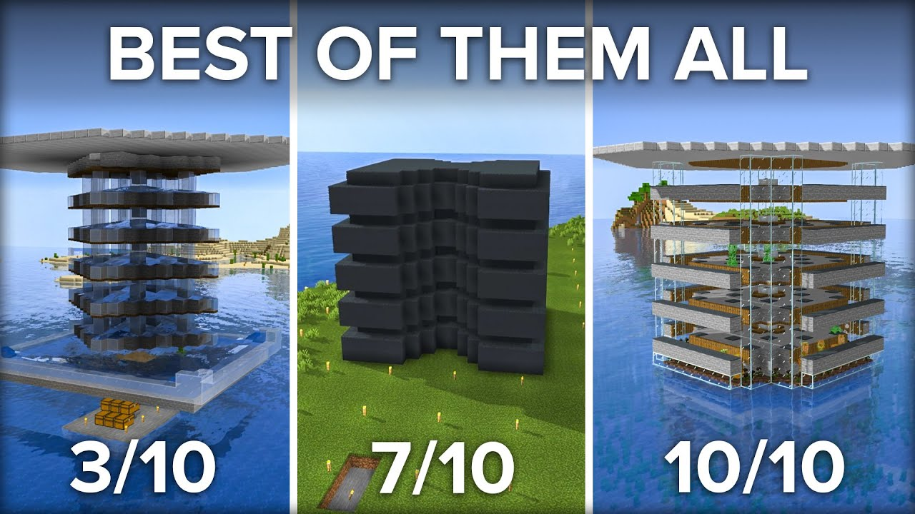 What is The Best Creeper Farm in Minecraft? Testing to Find out