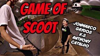 Insane Game Of Scoot!!! (jonmarco Gaydos V.s Anthony Cataldo)