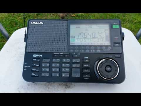 Radio Australia Shortwave: Last Newscast on Sangean ATS-909X
