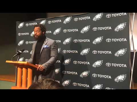 Michael Bennett is excited to join the Eagles
