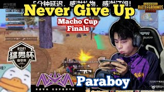 Paraboy fighting until the end • Nova XQF Paraboy Macho Cup Spring Split Finals