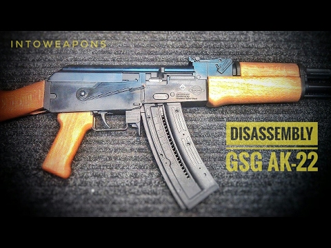 GSG AK47 22lr Rifle:  How To Disassemble