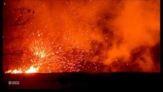 Kīlauea Volcano — Whirlwind Above Fissure 8
