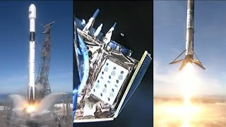 Sentinel-6 Michael Freilich launch and Falcon 9 first stage landing