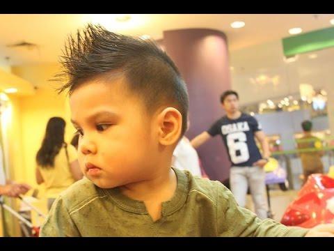 Toddler Mohawk Undercut Haircut Youtube