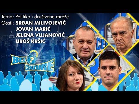BEZ CENZURE - Jelena Vujanović, Srđan Milivojević, Jovan Marić i Uroš Kršić