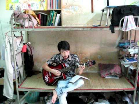 guitar  chiếc khăn gió ấm khanh phuong