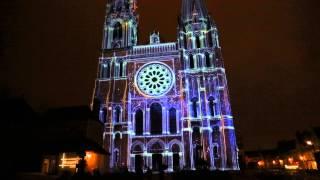 Son et lumiere @ Chartres 2013