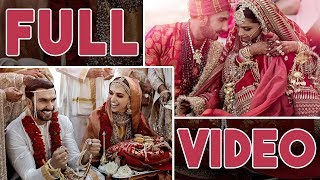 Full Video: Ranveer Singh- Deepika Padukone's Konkani Style Wedding In Italy