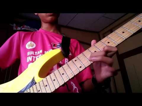 Xpdc - Cinta ( guitar solo )