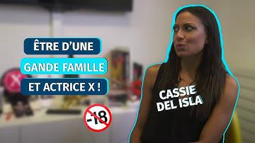 """Cassie Del Isla (Actrice porno) : """"Je suis issue d'une grande famille, diplômée dans l'aéronautique"""""""