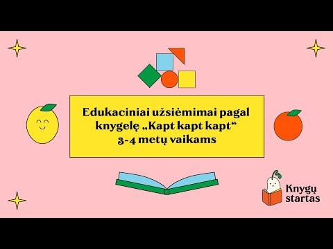 Edukaciniai užsiėmimai pagal