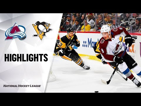 Avalanche @ Penguins 10/16/19 Highlights