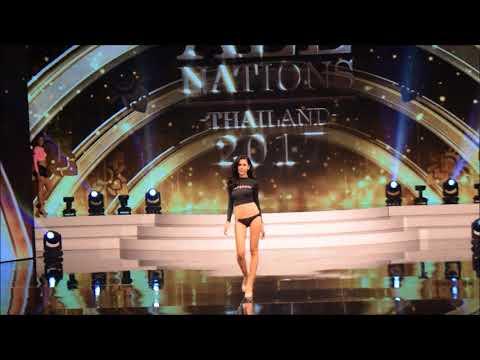 รอบ Preliminary (ชุดว่ายน้ำ) @ Miss All Nations Thailand 2017