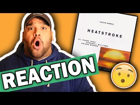 Calvin Harris - Heatstroke ft. Young Thug, Pharrell Williams, Ariana Grande [REACTION]