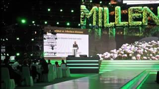 Aubrey de Grey Ph.D. Vision Millenium 2015, Da Nang, Vietnam, live