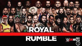 WWE ROYAL RUMBLE 2018 I The Royal Rumble Match