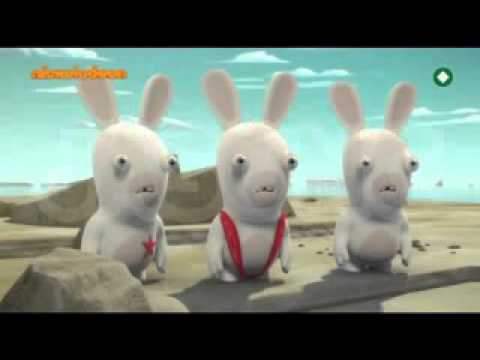 Rabbids Invasion Promo  Nickelodeon Greece