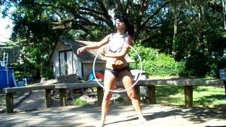 Hula hoop dance flow