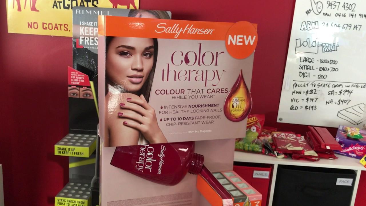 Colour therapy for beauty - Sally Hansen Colour Therapy Fsu