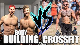 CrossFit VS Bodybuilding For Fat Loss!