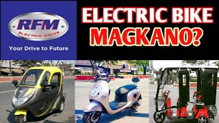 ELECTRIC BIKE CANVASSING - MAGKANO?