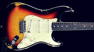 Slow Blues Shuffle | Guitar Backing Jam Track (A)