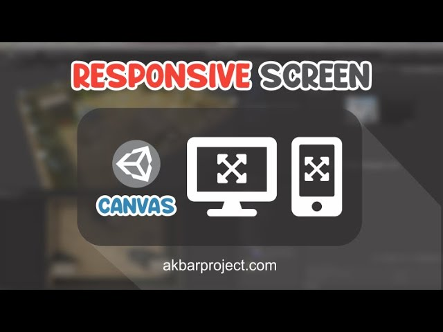 Canvas dan Responsive Screen Unity3D