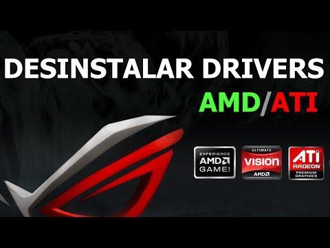 Desinstalacion completa de drivers AMD / ATI