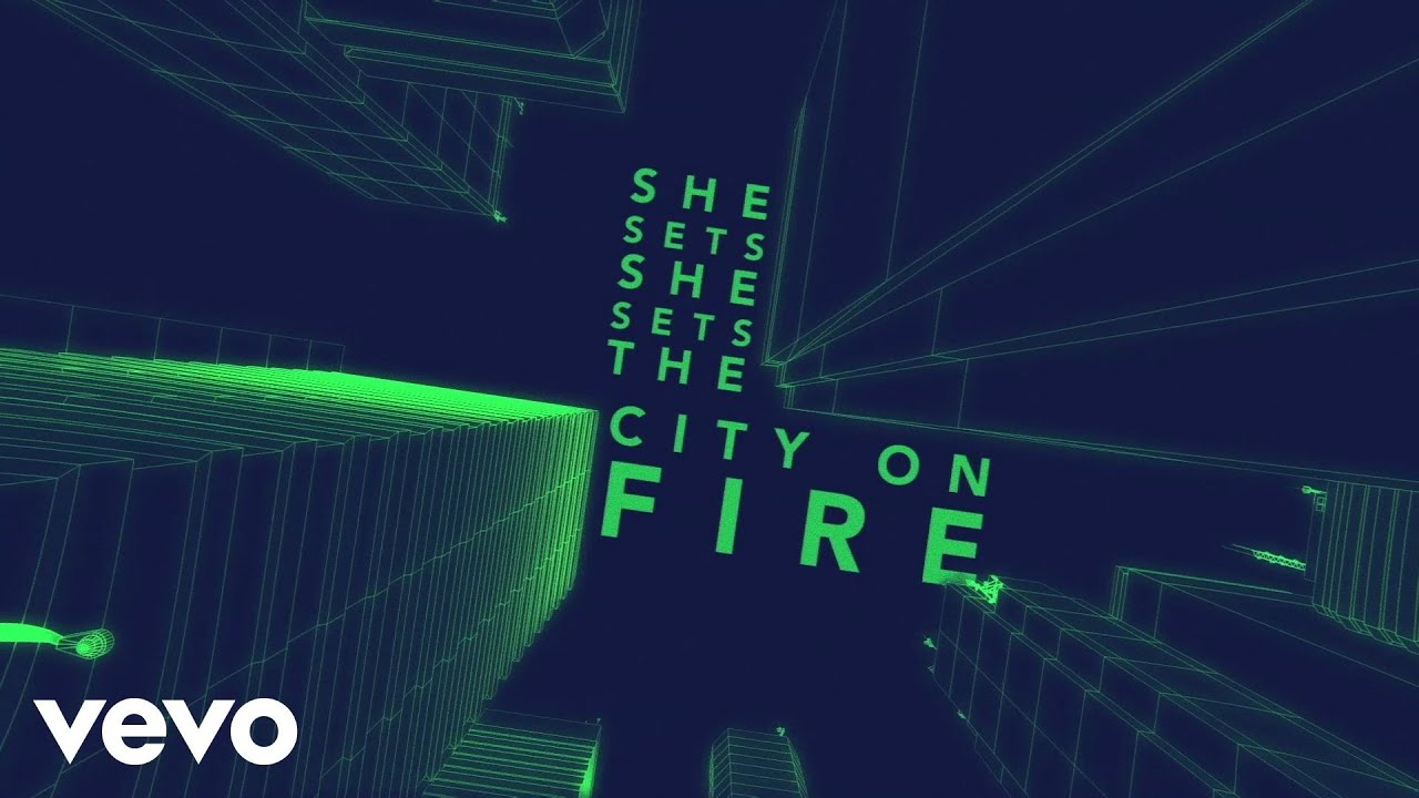 & Gavin DeGraw - She Sets The City On Fire (Lyric Video) - YouTube